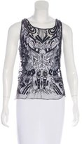Christian Lacroix Embellished Sleeveless Top