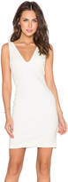 Amanda Uprichard Deep V Dress