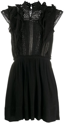 Isabel Marant Lace-Detail Mini Dress