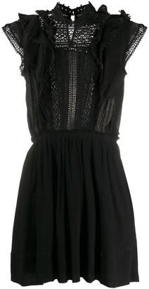 Isabel Marant Lace Trim Mini Dress