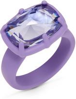 Swarovski Jewel-y McHue-y Small Ring, purple matt varnish