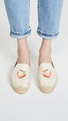 Soludos Peach Bum Smoking Slipper Espadrilles