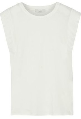 Joie Trella Cotton And Modal-blend Jersey Top