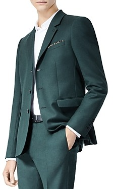 The Kooples Wool Jacket With Pocket Square