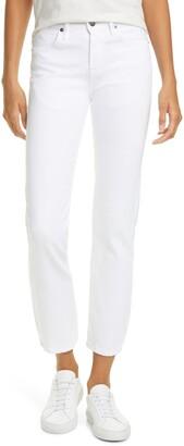 Frame Le Pixie Hollywood High Waist Straight Leg Jeans