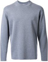 H Beauty&Youth ribbed crew neck jumper