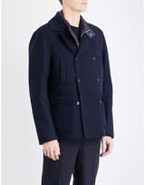 Moncler Double-breasted wool jacket