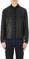 Rag & Bone Men's Boulder Leather Jacket-Black