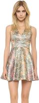 Alice + Olivia Varita Cutout Dress