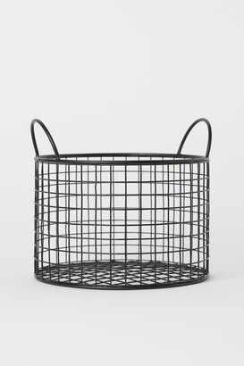 H&M Round Metal Wire Basket