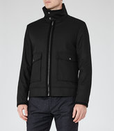 Reiss Battle Funnel Collar Jacket