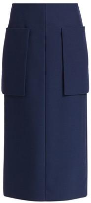 The Row Jenna Patch-Pocket Midi Skirt