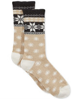 Charter Club Women's Nordic-Print Cashmere-Blend Socks, Only at Macy's