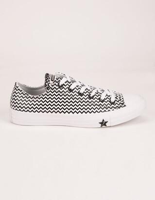 Converse CTAS OX White & Black Womens Shoes