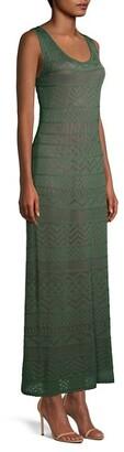 M Missoni Knit Sleeveless Maxi Dress