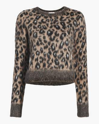 A.L.C. Maris Leopard Print Sweater