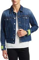 Kenzo Men's Faded Denim Jacket
