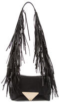 Sara Battaglia Theresa Fringe Shoulder Bag
