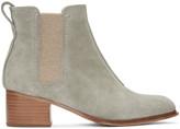 Rag & Bone Grey Suede Walker Ii Boots