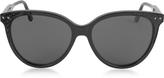 Bottega Veneta BV0119S Acetate Cat-Eye Frame Women's Sunglasses