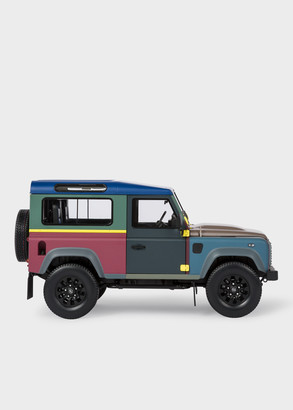 Paul Smith + Land Rover - Defender 90 1:18 Die Cast Metal Collector's Edition