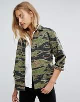 MiH Jeans Golborn Road Camo Jacket