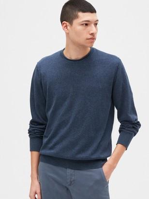 Gap Crewneck Sweater in Linen-Cotton
