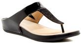 Naturalizer Yippee Thong Wedge Sandal