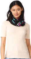 Kate Spade Small Hummingbird Oblong Scarf