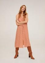 MANGO Printed shirt dress nude - 2 - Women