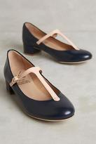 KMB T-Strap Block Heels