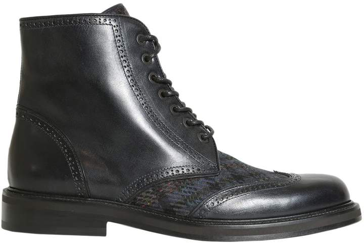 Etro Lace Up Boots