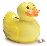 Toy Zany Adorable Duck Piggy Bank Great Gift Item