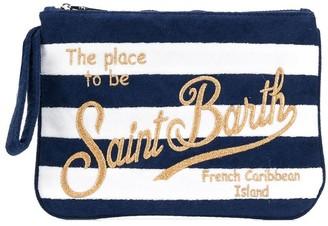 MC2 Saint Barth Striped Clutch Bag