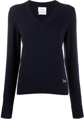 Barrie V-Neck Cashmere Jumper