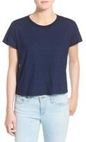 AG Jeans 'Indigo Capsule Collection - Penrose' Crewneck Cotton Tee