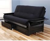 Kodiak Furniture Phoenix Suede Storage Drawers Futon and Mattress Frame