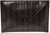 Alaia Leather clutch bag