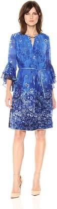 T Tahari Women's Bohemian Amber Dress