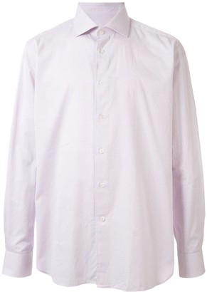 Corneliani Long Sleeve Spread Collar Shirt