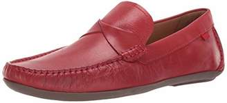 Marc Joseph New York Mens Genuine Leather Made in Brazil Plymouth Twisted Driver Driving Style Loafer