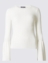 Limited Edition Round Neck Flared Sleeve Jumper