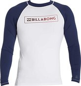 Billabong Men's All Day Raglan Regualr Fit Long Sleeve Rashguard