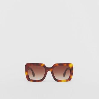 Burberry Oversized Square Frame Sunglasses