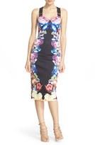 Ted Baker Women's 'Deony' Buckle Strap Sheath Dress