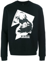 Versus graphic print sweatshirt