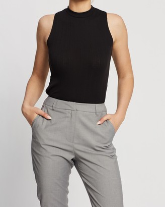 Spurr Grace Sleeveless Ribbed Top