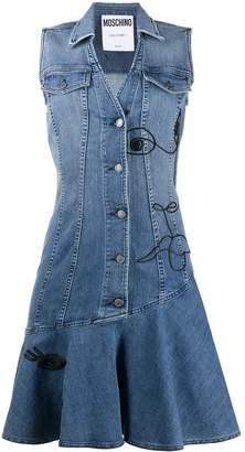Moschino Denim Mini Dress