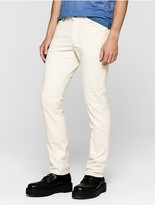 Calvin Klein Jeans Slim Straight Cotton Stretch Twilll Pants