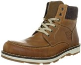 Rieker Men's 30312-25 Warm lined classic boots half length Brown Size: